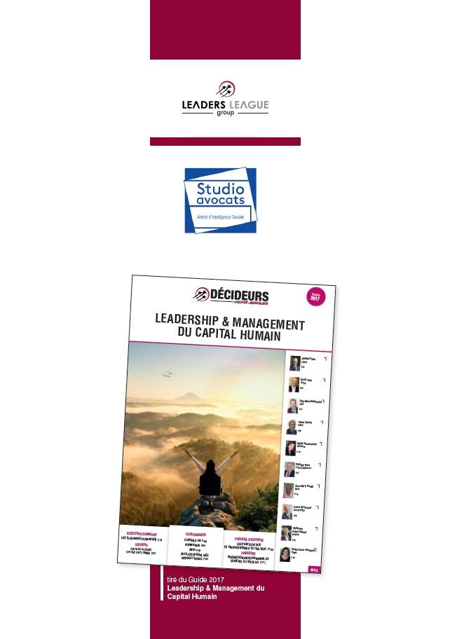 Classement 2017 meilleurs cabinets avocats France - Décideurs (1)